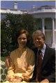 Rosalynn Carter and Jimmy Carter on the south lawn - NARA - 175600.tif
