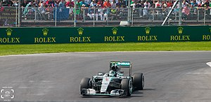2015 Mexican Grand Prix - Nico Rosberg took pole position for Mercedes.