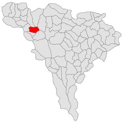 Location in Alba County