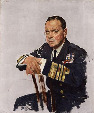 Deputy First Sea Lord - Image: Rosslyn Erskine Wemyss, Baron Wester Wemyss by Sir William Orpen
