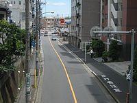 Route463 in Saitama city urawa word 1.JPG