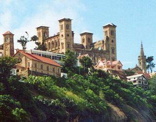 Rova of Antananarivo A royal palace complex in Madagascar