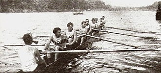 John Exley - the 1900 US rowing team