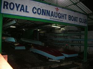 Royal Connaught Boat Club - Royal Connaught Boat Club boathouse.
