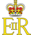 Royal Cypher of Queen Elizabeth II.svg