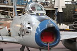 Royal Military Museum, Brussels - North American Aviation F-86F Sabre (11448789456).jpg