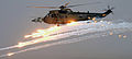 Royal Navy Sea King Mk 4 Helicopter Firing Decoy Flares in Afghanistan MOD 45154056.jpg