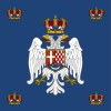 Royal Standard of the Crown Prince of Yugoslavia (1937–1941).svg