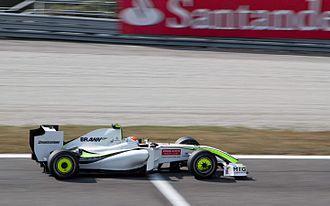 2009 Italian Grand Prix - Rubens Barrichello in the Brawn BGP 001
