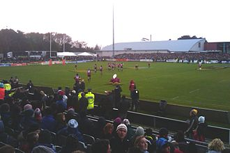 Highlanders (rugby union) - Image: Rugby Park Invercargill