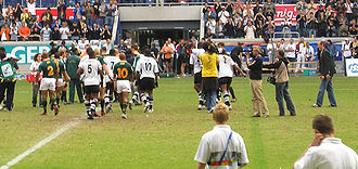 2005 World Games - Fiji's gold medal win in rugby
