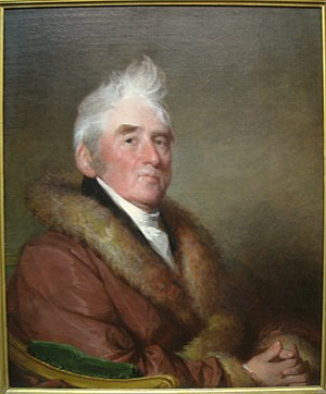 Russell Sturgis (1750–1826) - Russell Sturgis in 1822, by Gilbert Stuart