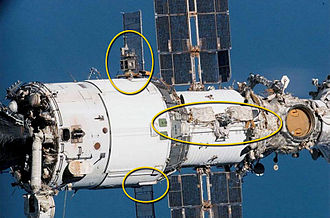 Expedition 25 - Russian EVA 26 worksites.