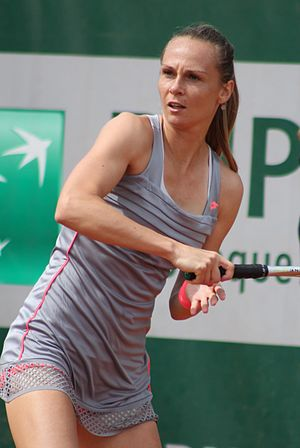 Magdaléna Rybáriková - Rybáriková at the 2015 French Open