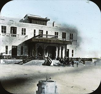 Marriott Mena House Hotel - Exterior of the Mena House, 1891