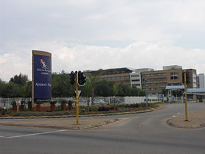 Kempton Park, Gauteng - Airways Park, the head office of South African Airways