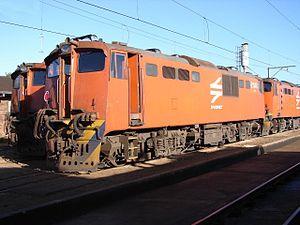 South African Class 6E - Image: SAR Class 6E E1146 ex E1172