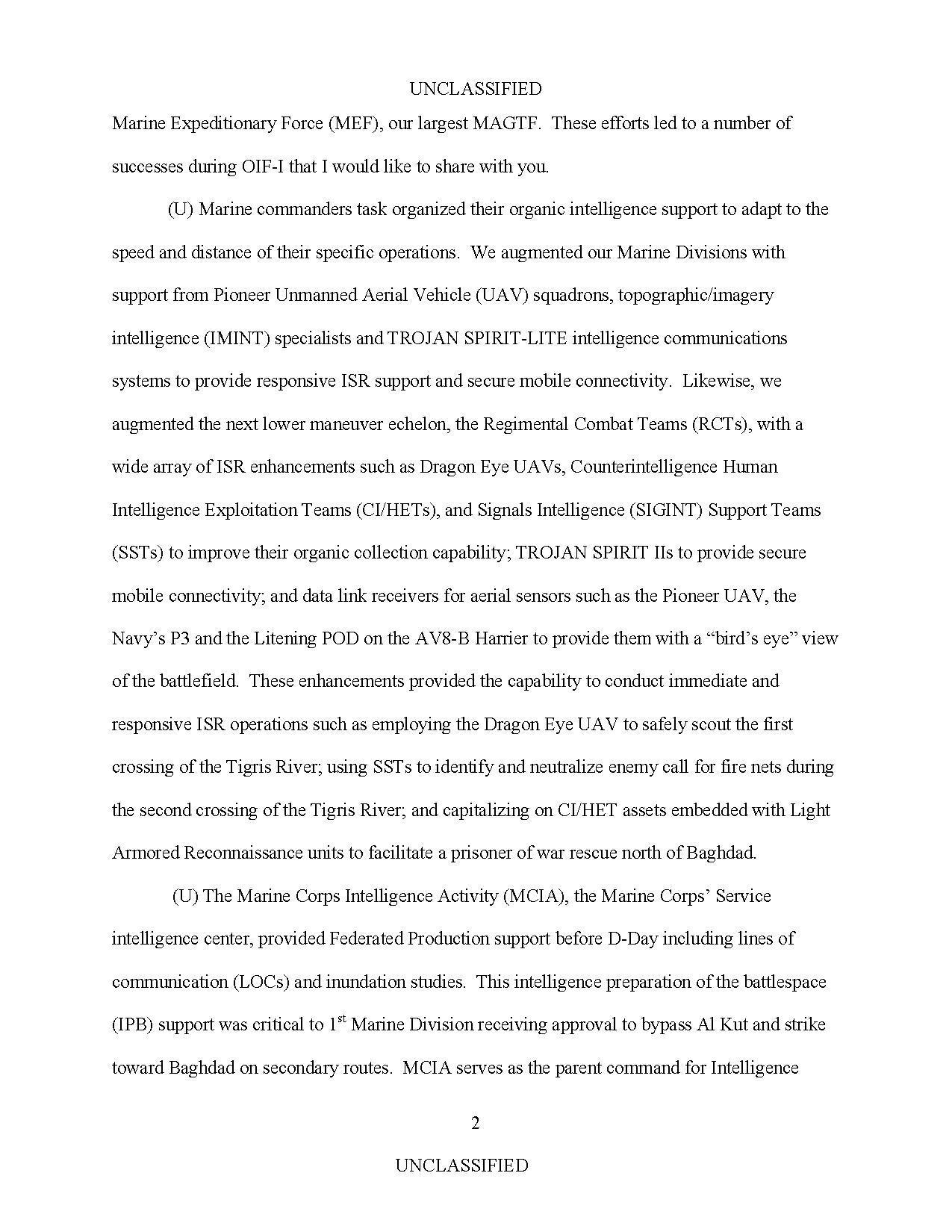 Page:SASC Iraq OIF Decker April 2004 pdf/3 - Wikisource, the