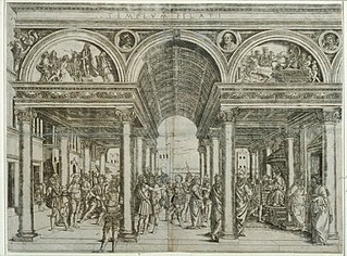 Italian engraver of the Renaissance, active in his native Florence (Italy).