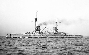 SMS Friedrich der Grosse (1911) - Image: SMS Friedrich der Grosse 2