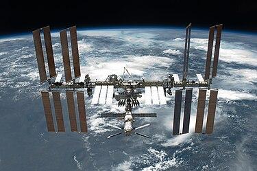 Immagine della stazione spaziale internazionale