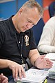 STS-135 Hurley participates in flight data file review.jpg