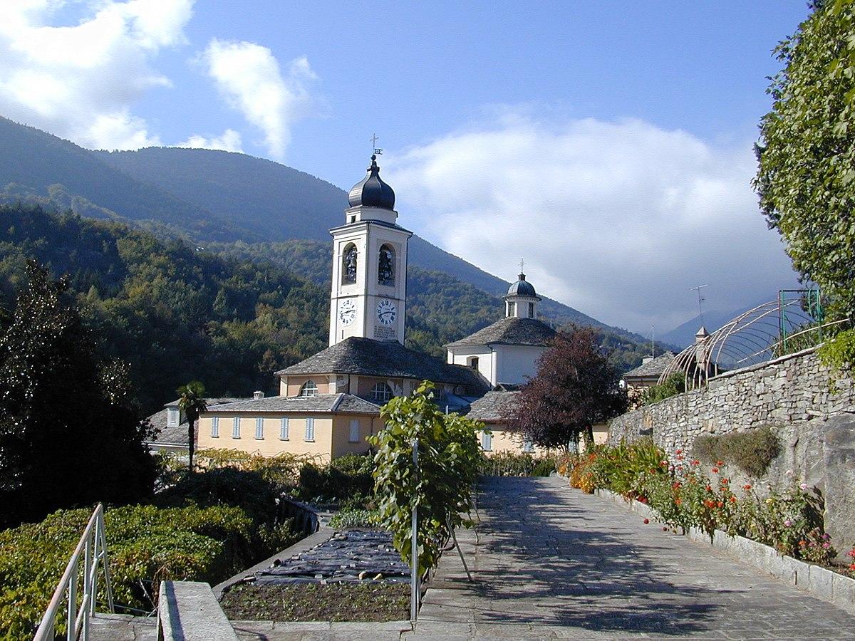 Sacred Mount Calvary of Domodossola - Wikipedia