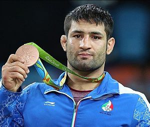 Saeid Abdevali at the 2016 Summer Olympics 03.jpg