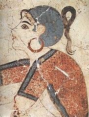 Saffron gatherers fresco