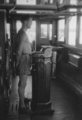Sailor AB as helmsman on a cargo ship - West Africa 1956.png