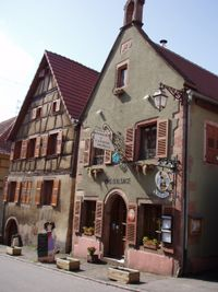 impressions of Saint-Hippolyte (Haut-Rhin), Alsace, France