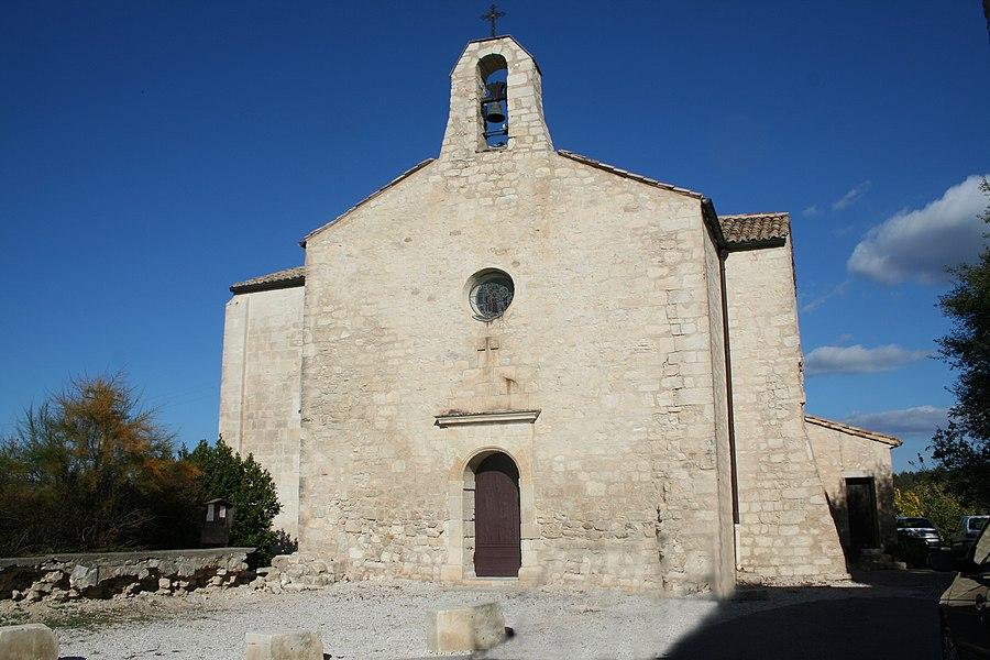 Saint-Vincent-de-Barbeyrargues (Hérault) - église.
