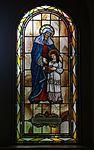 Saint Paul Catholic Church (Westerville, Ohio) - stained glass, arcade, Saint Anne.jpg