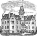 Salina Normal University, side-view illustration (1890).png