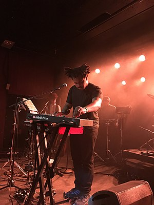 Sampha - Sampha performing in 2016