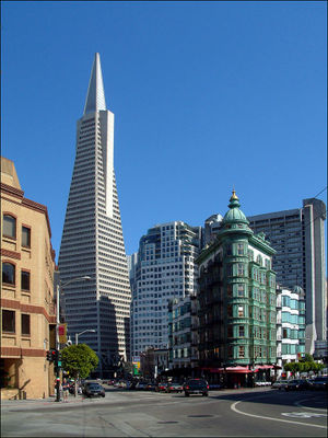 William Pereira - Transamerica Pyramid, San Francisco, 1972