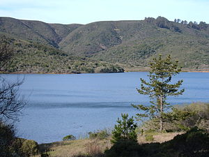 San Andreas Lake from San Andreas Trail 1.JPG