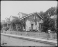 San Francisco Earthquake of 1906, (Possibly officers quarters in) Tennessee Hollow, Presidio of San Francisco - NARA - 531044.tif