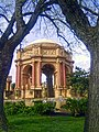 San Francisco Palace of Fine Arts - with Trees 01.jpg