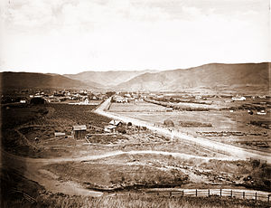 San Luis Obispo, California - The city in 1876