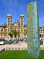 San Sebastián - Jardines de Alderdi Eder - Memorial de las víctimas del terrorismo y la violencia (2007).jpg