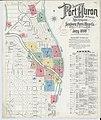 Sanborn Fire Insurance Map from Port Huron, Saint Clair County, Michigan. LOC sanborn04159 003-1.jpg