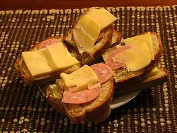 Sandwiches Polski: kanapki