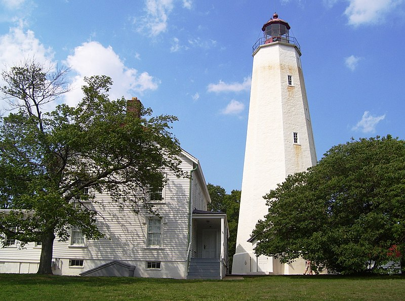 File:Sandy Hook lighthouse.jpg