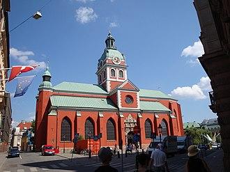 Saint James's Church, Stockholm - Image: Sankt Jacobskyrkan