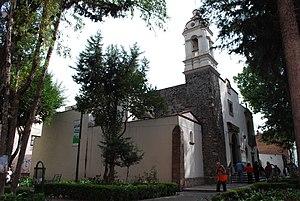 La Romita - View of the Santa María de la Natividad Aztacalco church