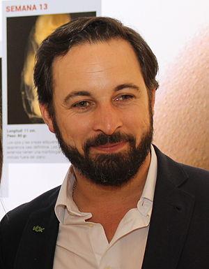 Santiago Abascal - Image: Santiago Abascal IMG 3029 (17568663961)