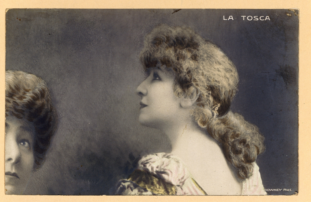 Sarah Bernhardt - La Tosca