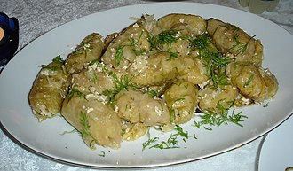 Kosovan cuisine - Sarma in cabbage leaves