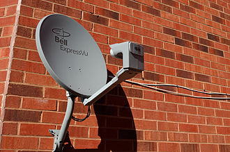 Bell TV - A Bell TV satellite dish